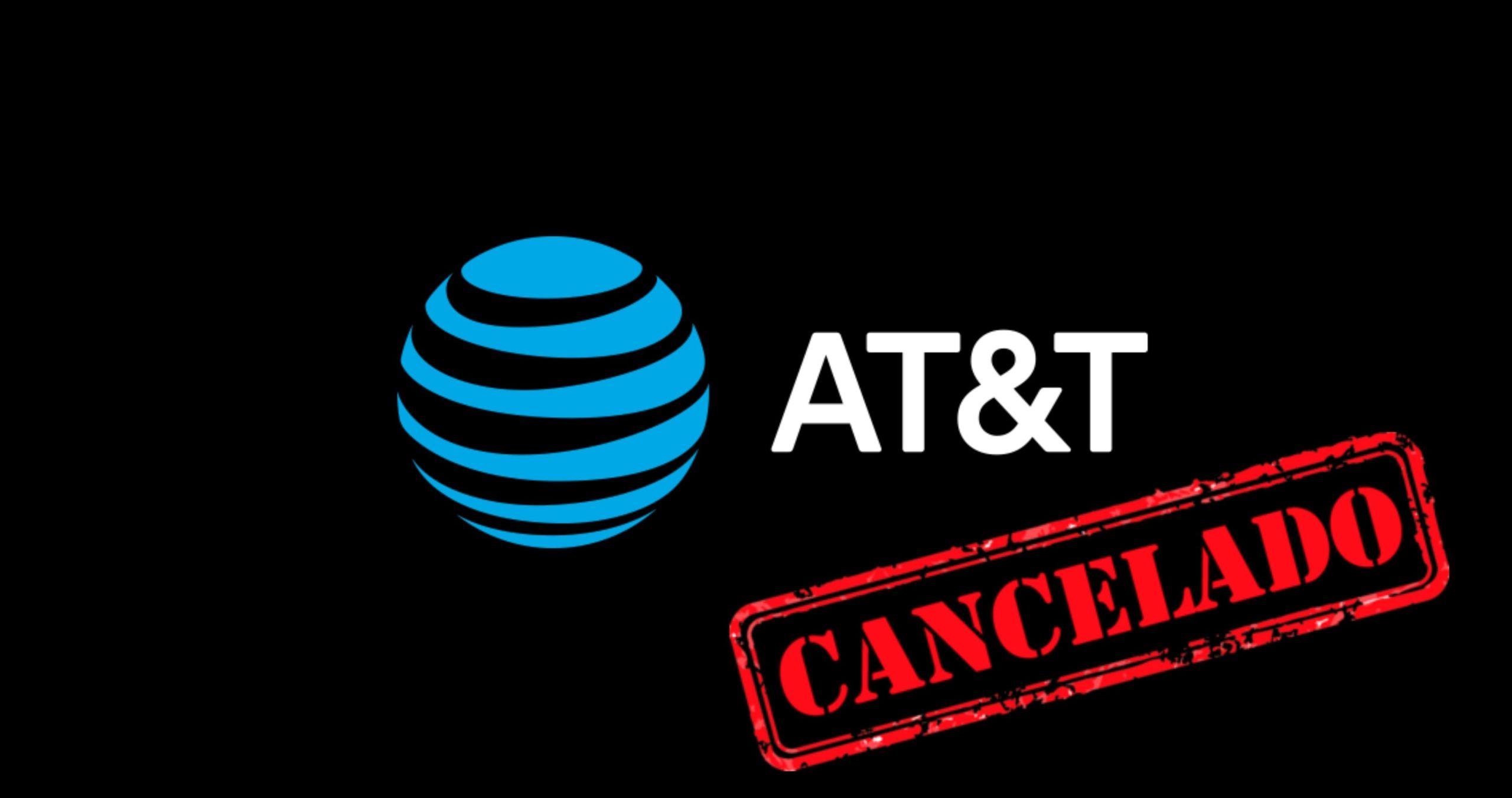 cancelar plan ATT
