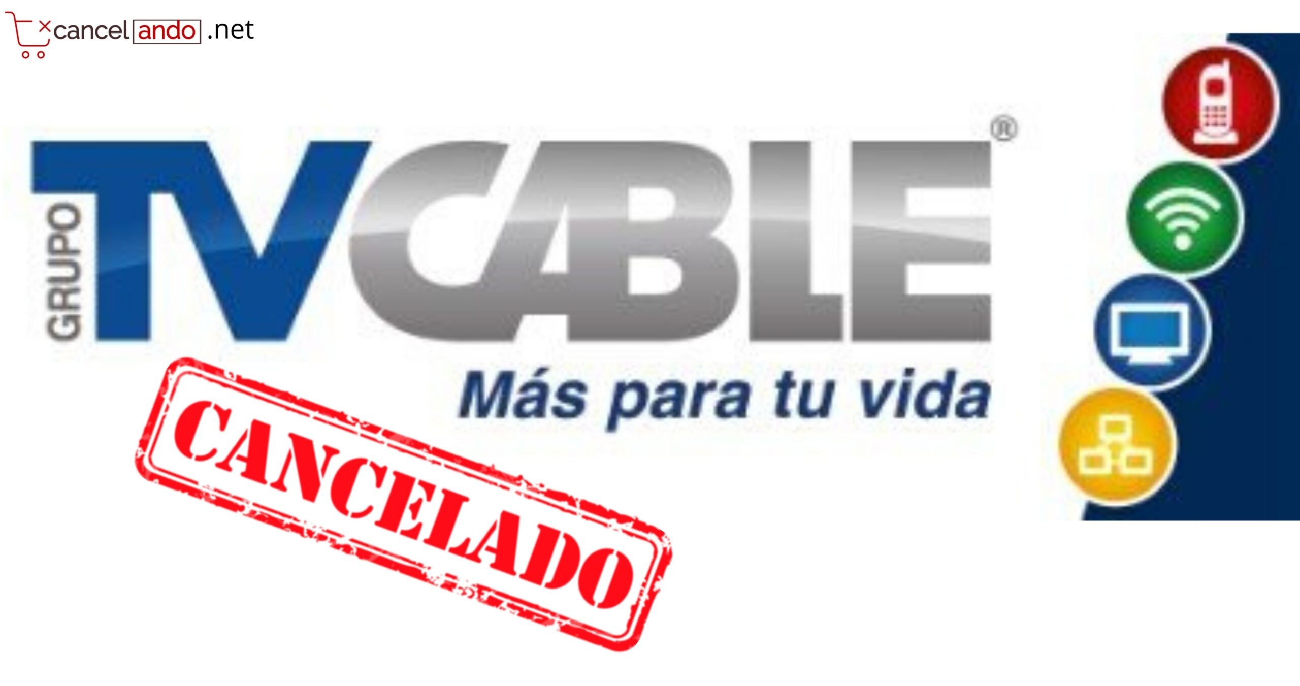 cancelar servicio tv cable