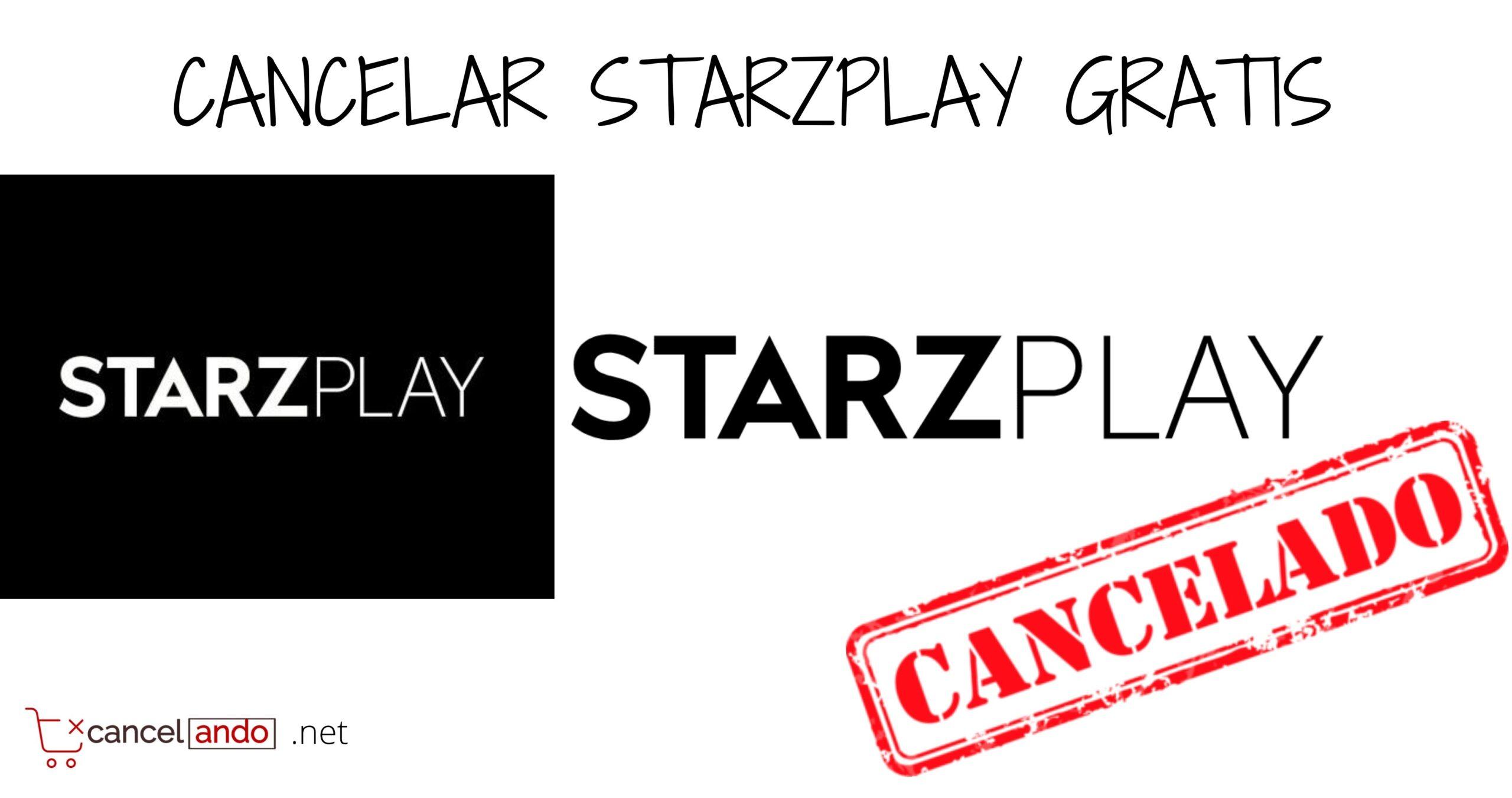 cancelar starzplay