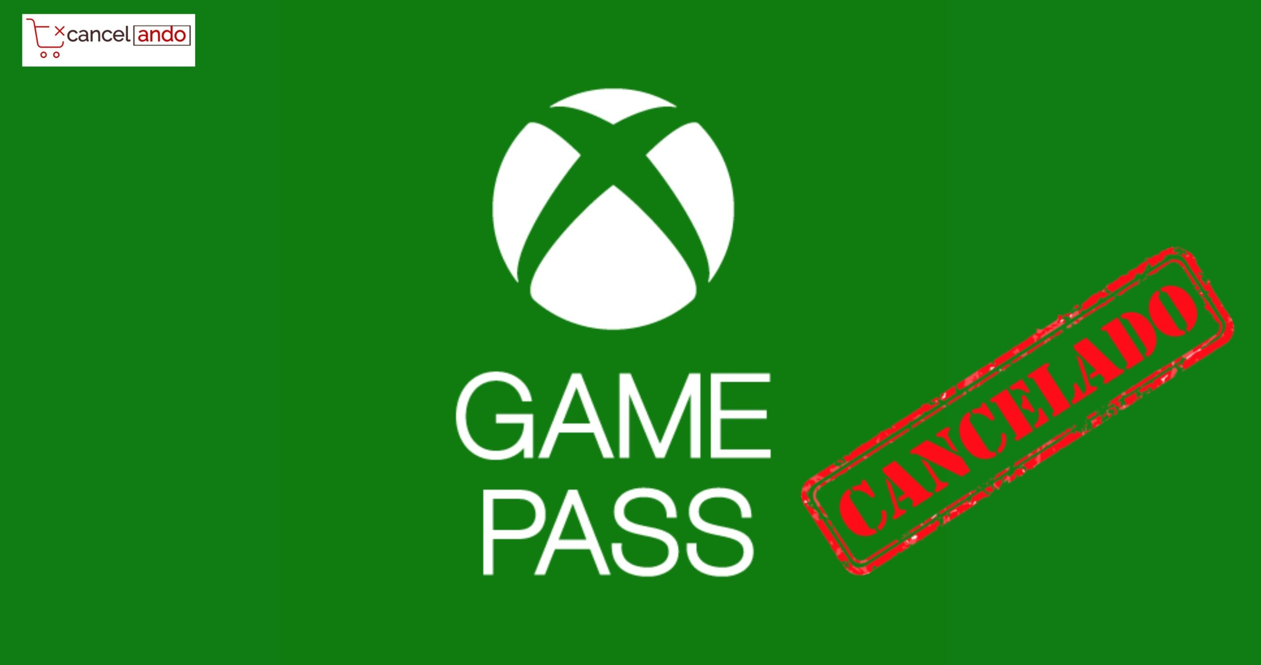 cancelar xbox game pass